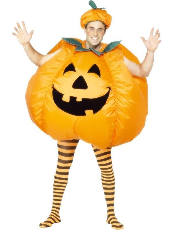 New Adult Men Pumpkin Halloween Costume #Smiffys #CompleteOutfit