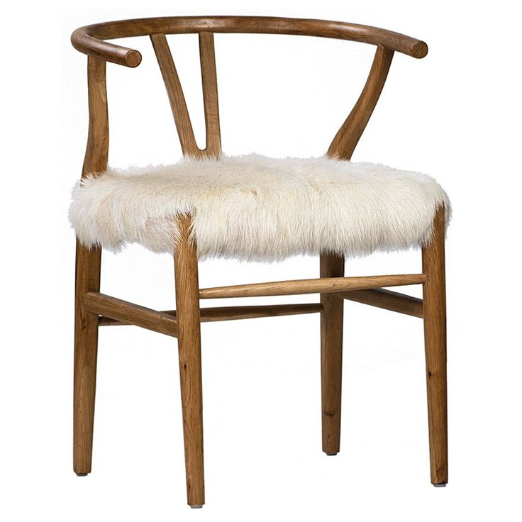 The Baker Chair by Dovetail is part an eclectic range of handmade furniture, accessories and textiles.