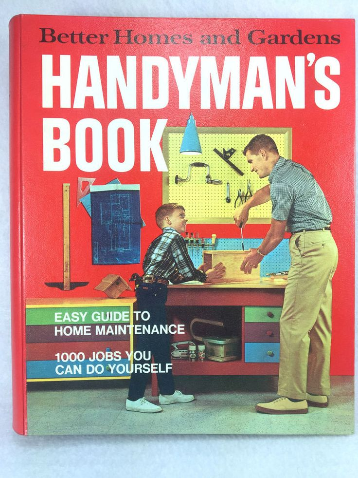 Details About Better Homes Gardens Handyman 39 S Book Bh G