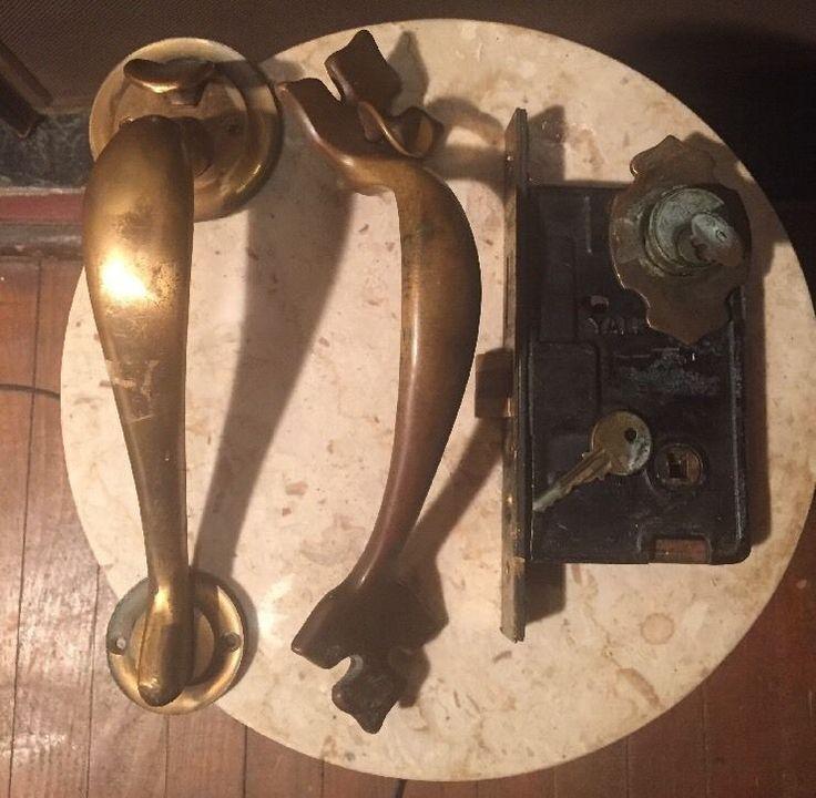 Antique Door Handles And Plates