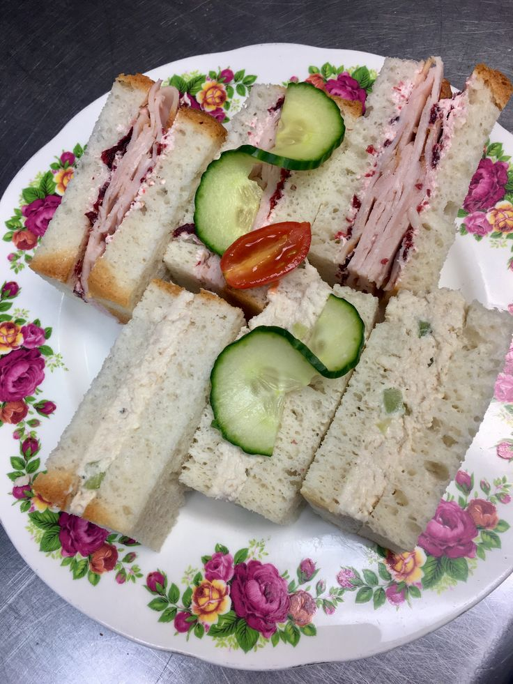 Now serving our tea sandwiches on gluten-free bread!