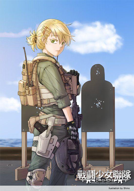 전투소녀연대-미국 해병대 31 MEU 포스리컨