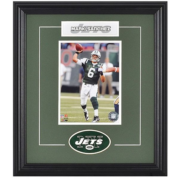 Mark Sanchez New York Jets Fanatics Authentic Framed Photograph and Plate - $29.99
