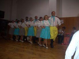 Pásmo lidových písní, tancuje Česká beseda Mistrovice