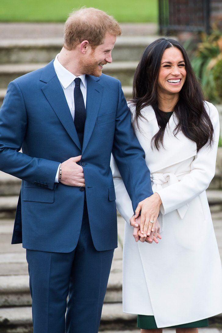 Watch Prince Harry and Meghan Markle's Sweet, Giggly PDA While Posing For Engagement Photos