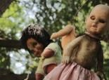 """""""The Island of the Dolls (Isla de las Munecas), located in the Xochimilco canals south of Mexico City, is home to hundreds of spooky dolls."""""""