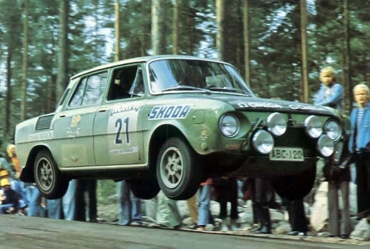 Skodas were flying well before the DeLorean in Back to the Future #skoda