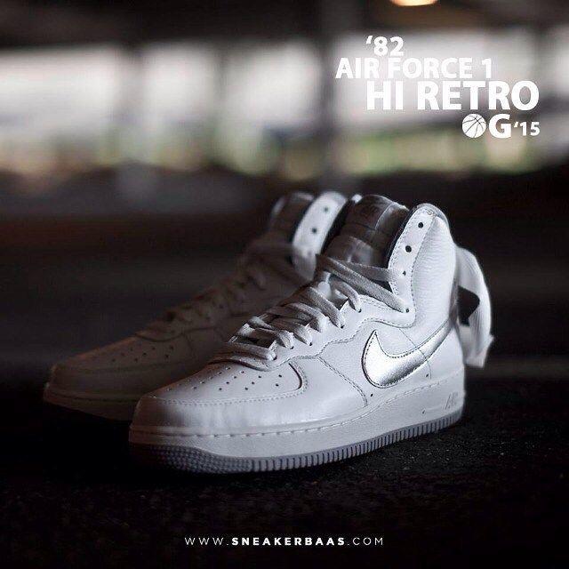 #nike #nikeairforceog #nikeairforceretro #nikeairforce #sneakerbaas #baasbovenbaas  Nike Air Force 1 Hi Retro OG - Shop now!