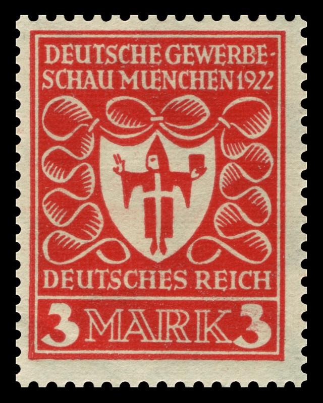 Germany 1922 Deutsche Gewerbeschau München German stamps