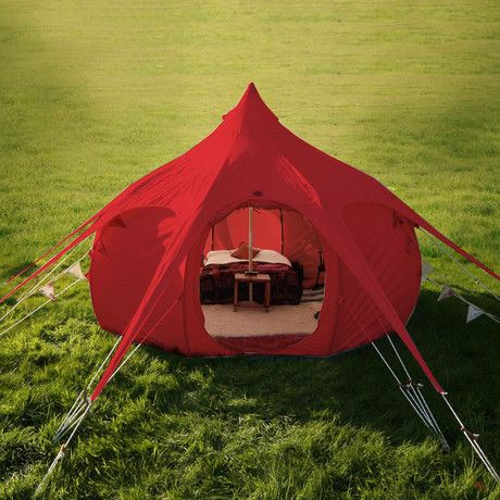 A beautiful addition to any backyard or camp ground, the striking Limited Edition Red Outback will protect you from the elements while allowing you to relax in style. This brand new addition features zipable mesh windows and a zipable mesh door, a...