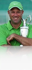 Love this pic of Stewart Cink with the Claret Jug back in 2009. SUPER NICE GUY!