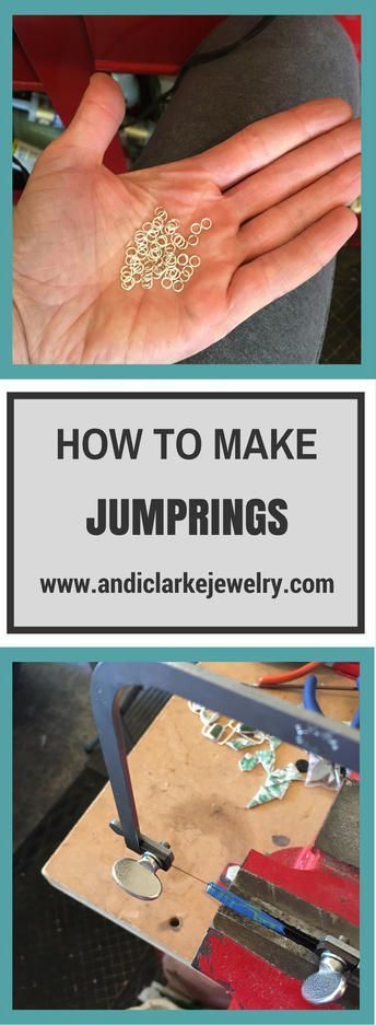 I use a lot of sterling silver jump rings in my jewelry designs so I needed to learn how to save some $$$'s by making them myself. Here are step by step instructions on how to make jump rings for jewelry making along with the tools to do it with too.
