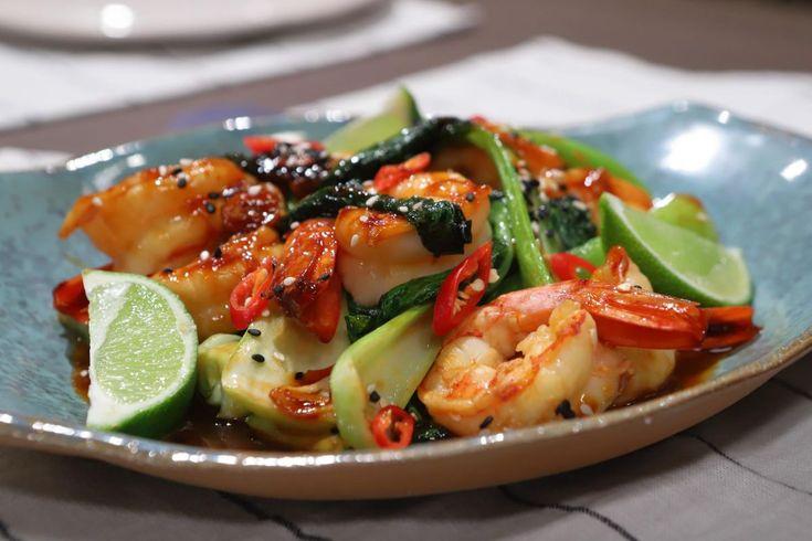 Prueba este Salteado de Langostinos y Pak Choy, por Lis Ra, en El Gourmet. Asian Recipes, Ethnic Recipes, Pasta Salad, Potato Salad, Food And Drink, Yummy Food, Sweet, Ideas, Gastronomia