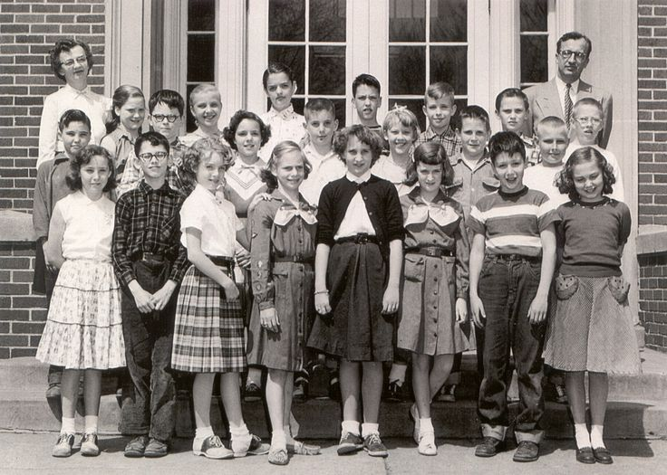 Roosevelt Fifth Grade Class photo from the 1954-1955 school year  Front row from left: Margie Bunch, David Huntsberger, Kay Parrish, Steveann Myers, Martha Ross, Julie Ann Wagaman, Mike Campbell, Judy Gunnerson Second row: Tim Blaichley, Jerry Wetteland, Judy Holdredge, Jim Ricketts, Karen Smedal, Craig Carver, Joel Cerwick Third row: Mary Beth Kirkham, Phyllis Randau, Sheryl Wilson, David Gunderson, John Everson, Dale Bartley, Larry Hills In back: Mrs. Ruth Gammel, teacher; Lawrence…