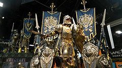 Warcraft Movie: Booth Images San Diego Comic Con 2015