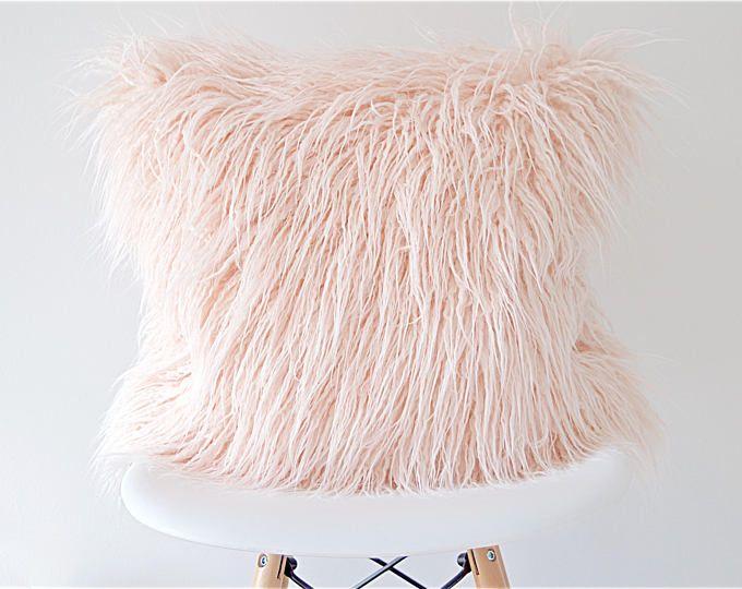 Faux Fur Pillow Cover