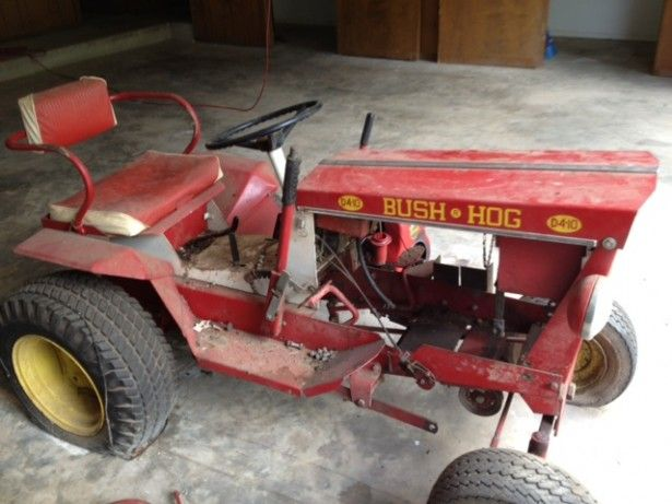 Vintage Bush Hog: Lawn/Garden Tractor Mower | Larry Lawrence Enterprises