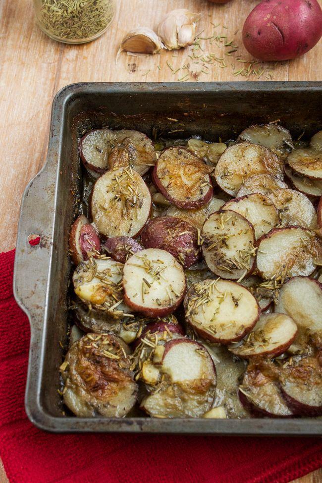 Rosemary Garlic Potatoes Recipe