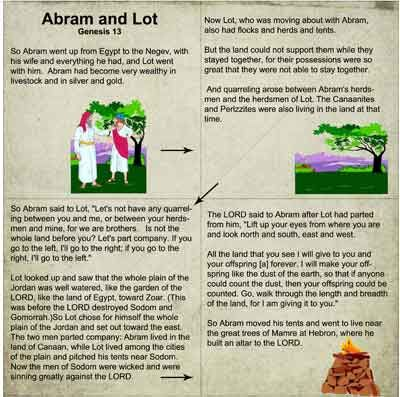 12 best images about Bible: Abraham and Lot on Pinterest ...