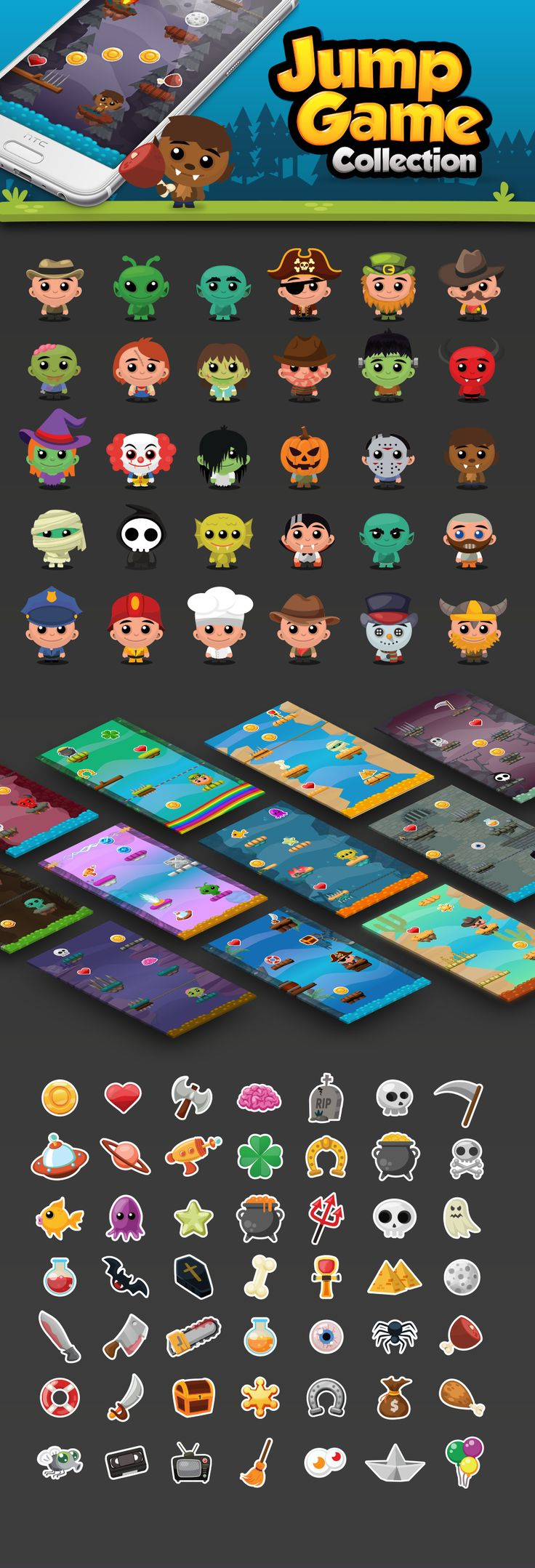 Jump Game - Collection on Behance