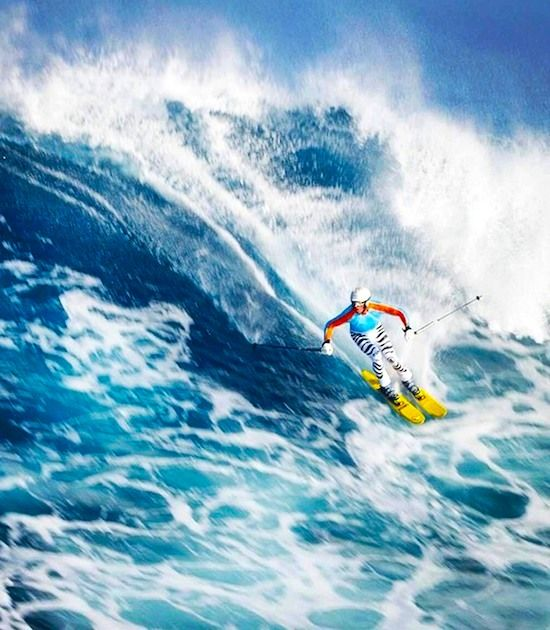 WILLY BOGNER SKI IN HAWAII LIKE A REAL CHAMP! YOU NEVER SEE HOW HE MOVES LIKE THIS!