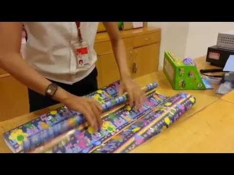Pembuatan Bungkus Kado - YouTube