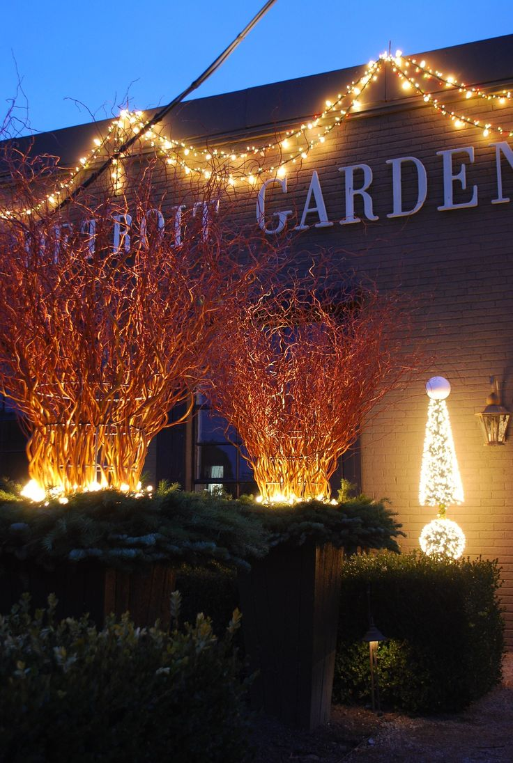93 best holiday and winter lighting images on pinterest