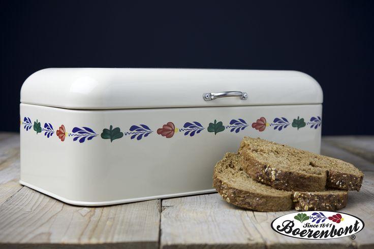 Houd je brood heerlijk vers met deze retro broodtrommel van Boerenbont.