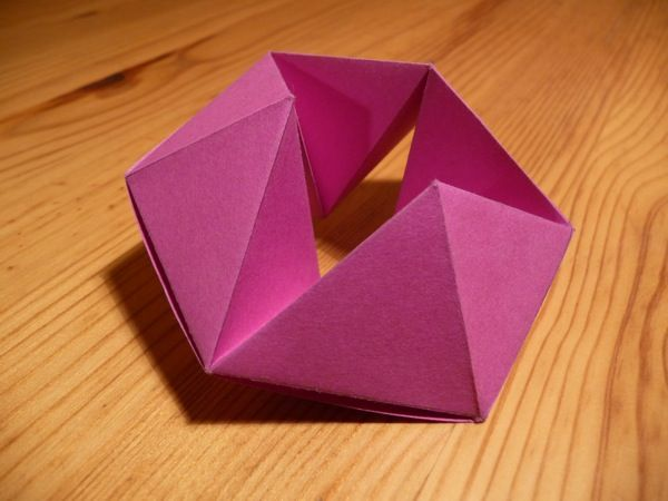Best Hexaflexagon Images On   Origami Paper Toys And