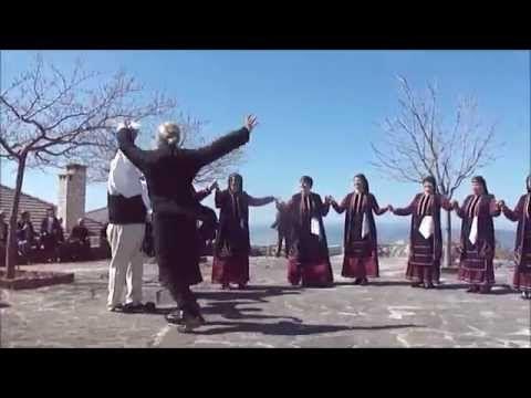 """παπαΓιώργης """"χορός στη Ράχη""""  Λυγγιάδες Πάσχα 2015 - YouTube"""