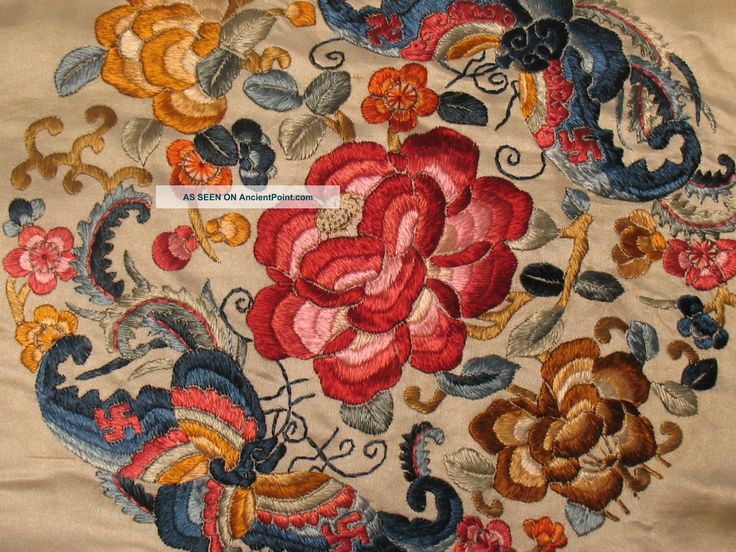 ancient Chinese embroidery
