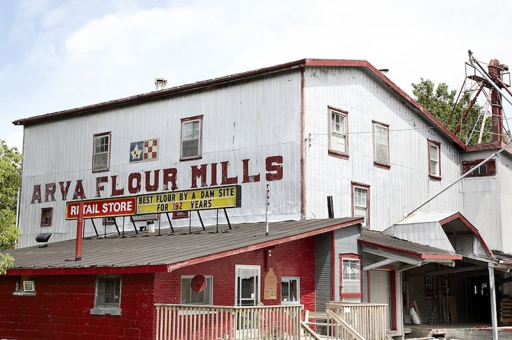 The mill is the oldest of its kind in Canada, running partially on water turbines, and produces up to 1,200 pounds of flour an hour