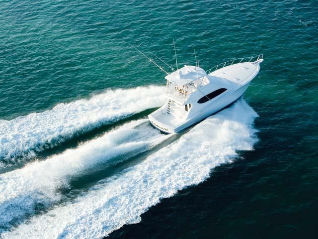 54 Convertible Fishing Yacht #Hatteras