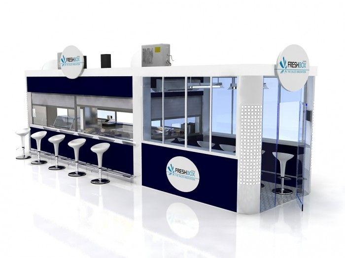 14 best kiosk images on pinterest kiosk kiosk design for Indoor food kiosk design