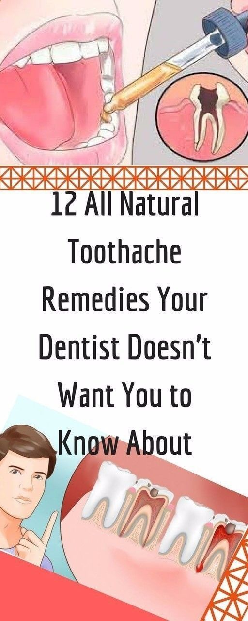 12 ALL NATURAL TOOTHACHE REMEDIES YOUR DENTIST DOESN'T WANT YOU TO KNOW ABOUT...