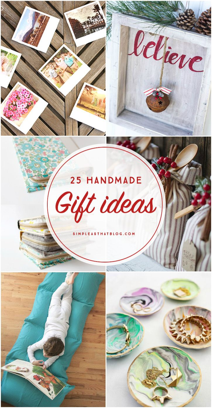 25 Handmade Gift Ideas | Pinterest | Gift, Christmas gifts and Craft
