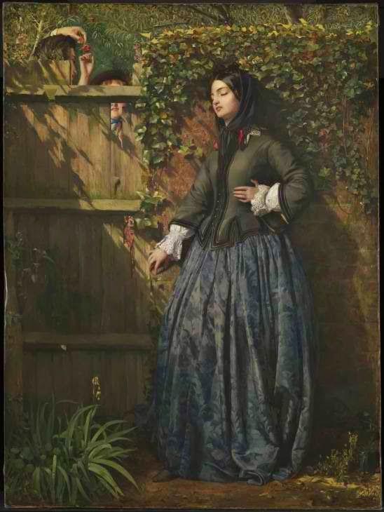 Ph. Herm. Calderon, Σπασμένοι όρκοι. 1856. Tate Gallery.