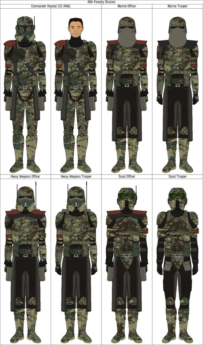 49th Forestry Division by QuillSpirit15971 | Clone Trooper Armor