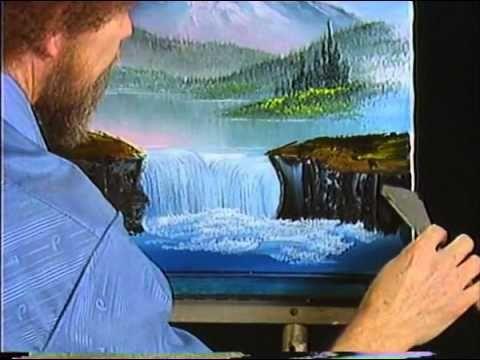 Bob Ross Mountain Waterfall - The Joy of Painting (Season 2 Episode 12) - YouTube