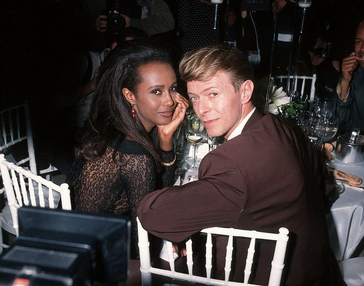 iman and david bowie wedding - Google Search