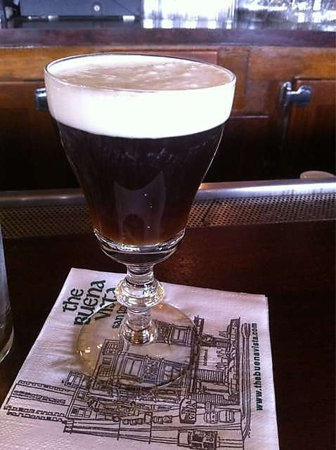 the Buena Vista Irish coffee - San Francisco