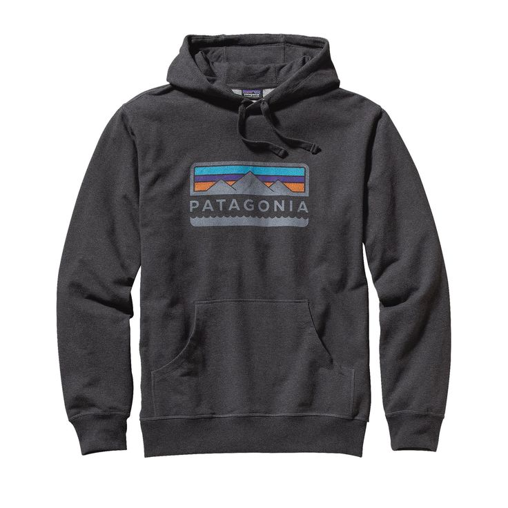 All schlepped out from the trek to basecamp? Recoup with the cozy Patagonia Men's Tres Peaks Midweight Hooded Pullover Sweatshirt.