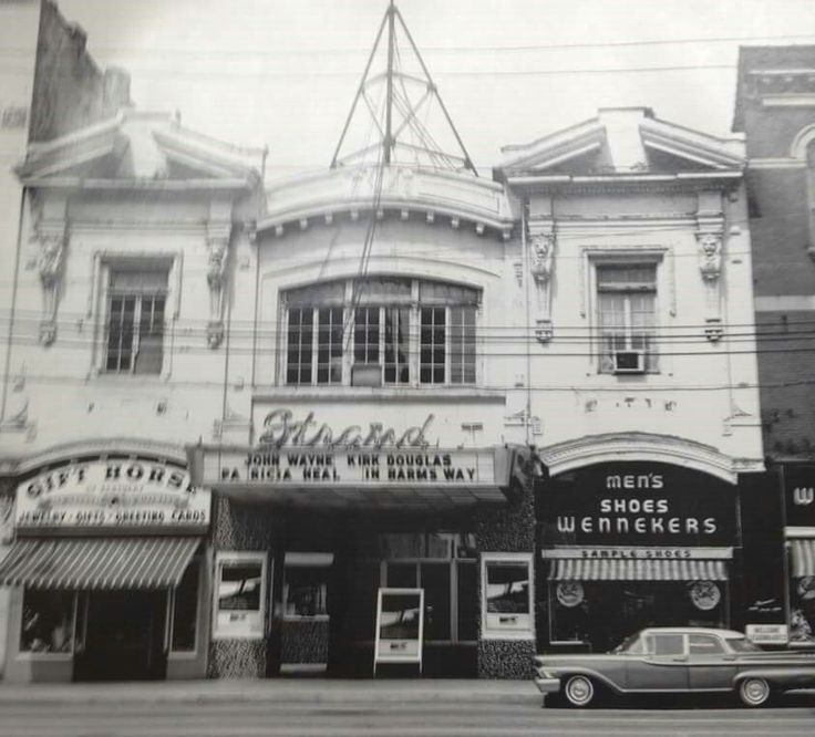 The old Strand Theater on Main Street
