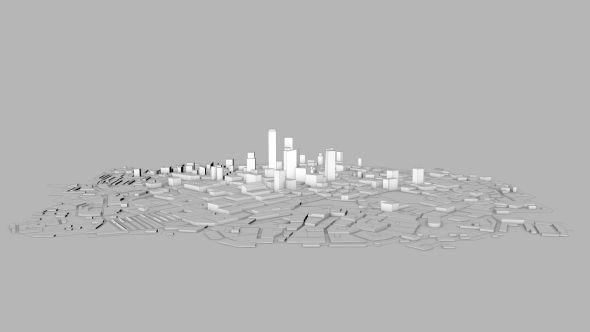 Architecture Blueprint City Background