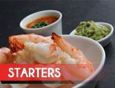 Start your meal off with one of our delicious starters!