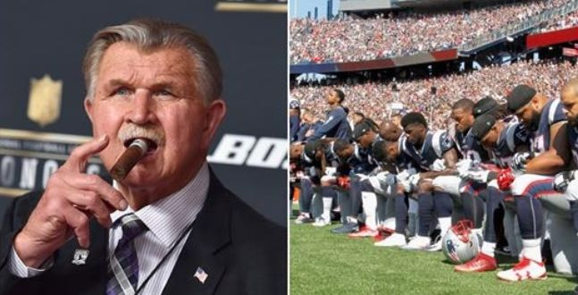 It Took Only 3 Words From NFL Legend Mike Ditka To Set The NFL Anthem Kneelers Straight