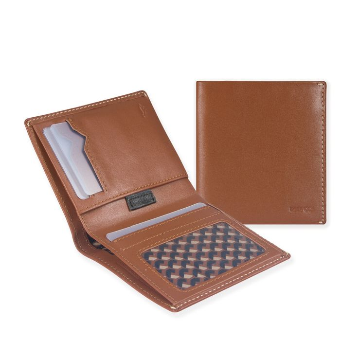 01 Slim Carry Wallet _ Tan