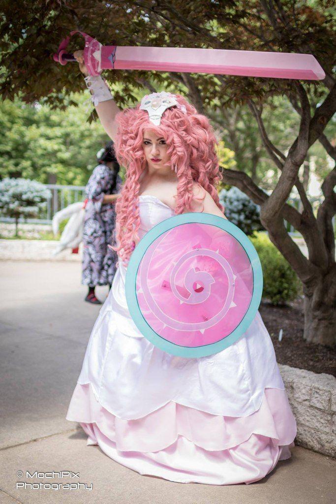 Rose quartz su cosplay