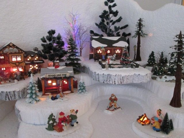251 Best Christmas Villages & Decorating Ideas Images On Pinterest  Christmas Villages
