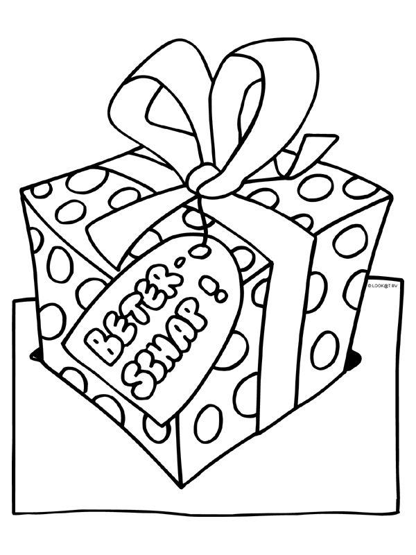 kleurplaat beterschap cadeau kleurplaten nl